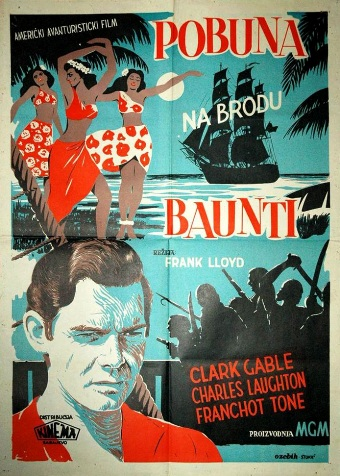 MUTINY_ON_THE_BOUNTY-Yugosalvia 1sh Poster