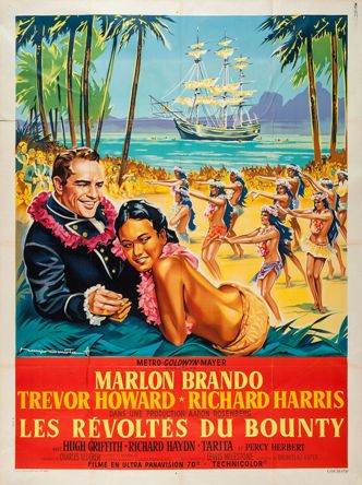 MUTINY_ON_THE_BOUNTY_62 French 47x63 style B