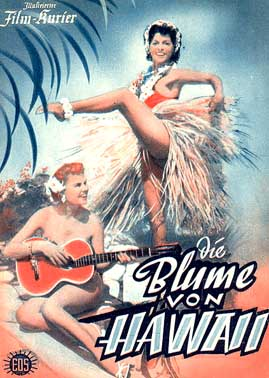 BLUME VON HAWAII German TV