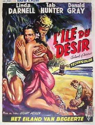 ISLAND OF DESIRE Belgium window card
