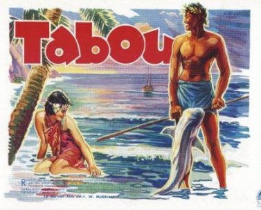 TABU French pressbook cover