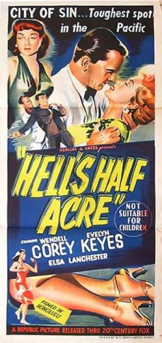 HELL'S HALF ACRE daybill