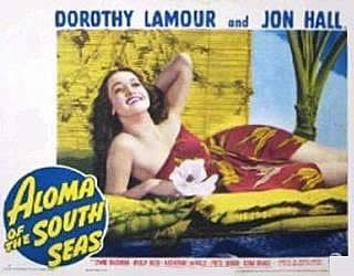 ALOMA OF THE SOUTH SEAS-Lamour