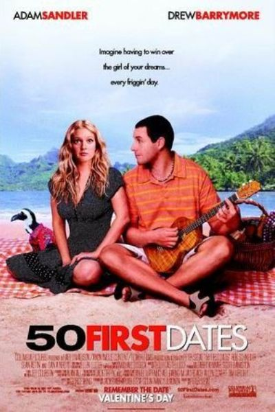 50 FIRST DATES 1 sheet