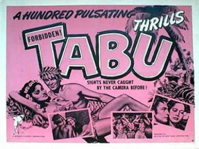 FORBIDDEN TABU half sheet