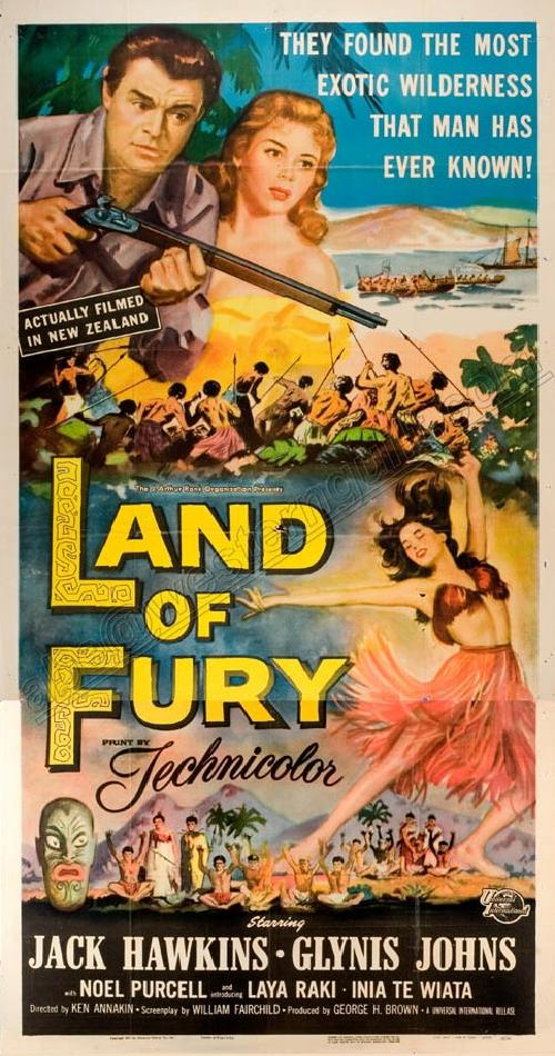 Land of Fury 3 sheet