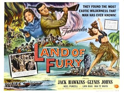 LAND OF FURY half sheet