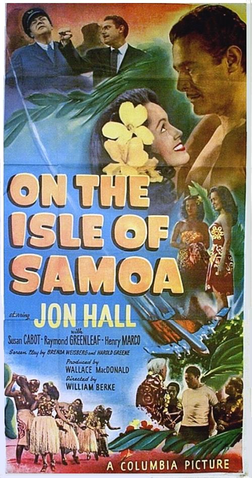 On the Isle of Samoa 3 sheet