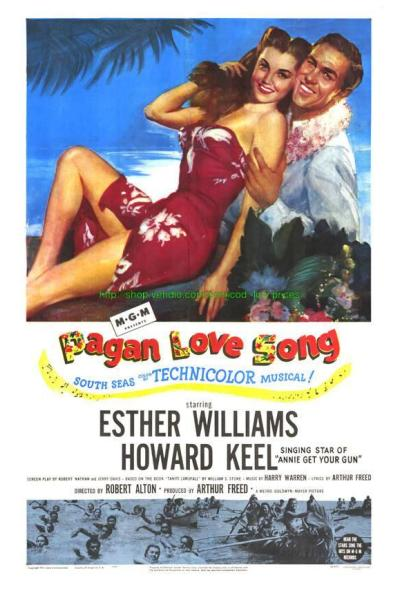 PAGAN LOVE SONG 1 sheet