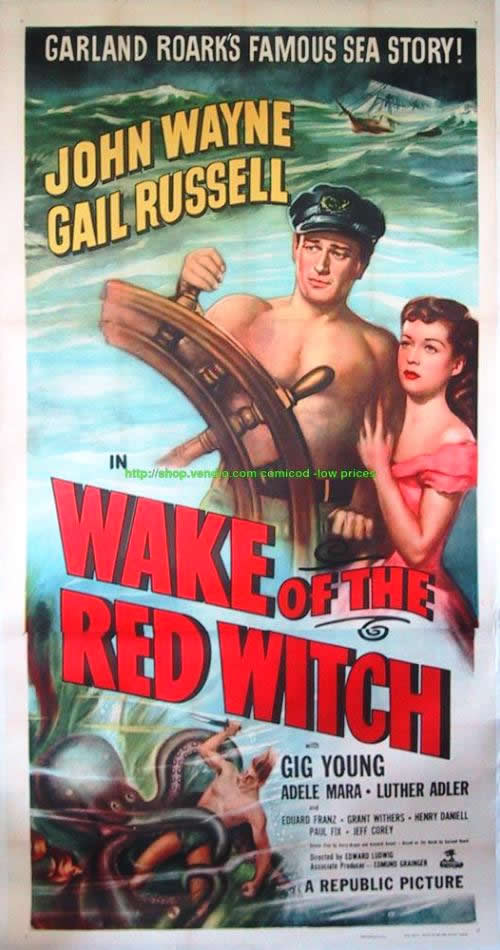 Wake of the Red Witch 3 sheet