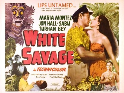 WHITE SAVAGE half sheet