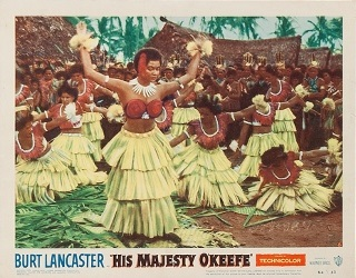 HIS MAJESTY O'KEEFE-Fijian dancers