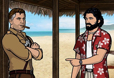 Archer in the South Pacific